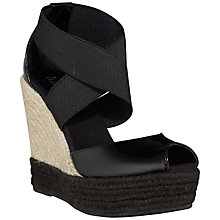 Buy Lauren by Ralph Lauren Toni Espadrilles, Black Online at johnlewis.com