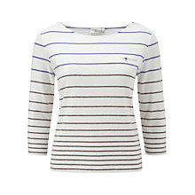 Buy CC Petite Stripe Top, Multi Online at johnlewis.com