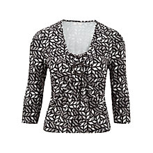 Buy CC Petite Aztec Print Jersey Top, Multi Online at johnlewis.com