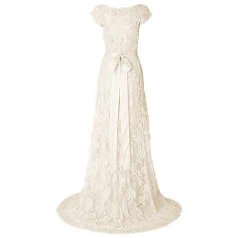Buy Phase Eight Carolina Wedding Dress, Ivory Online at johnlewis.com