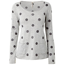Buy White Stuff Spotted Mork Jumper Online at johnlewis.com
