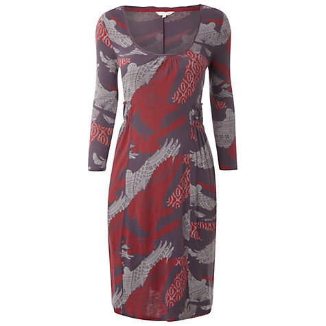 Buy White Stuff Love Dress, Seal Grey Online at johnlewis.com