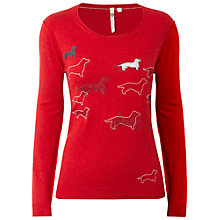 Buy White Stuff Lily Jumper, Viking Red Online at johnlewis.com