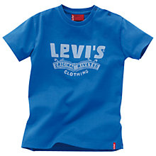 Buy Levi's Nemo Logo T-Shirt, Blue Online at johnlewis.com