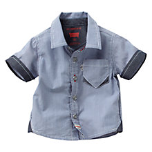 Buy Levi's Sammy Striped Short Sleeved Shirt, Blue Online at johnlewis.com