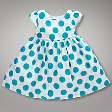Buy John Lewis Baby Spotted Dress Online at johnlewis.com