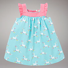 Buy John Lewis Baby Goose Dress, Multi Online at johnlewis.com