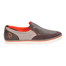 Buy Diesel Labuan Leather Shoes Online at johnlewis.com