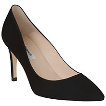 Buy L.K. Bennett Florete Suede Point Toe Court Shoes Online at johnlewis.com