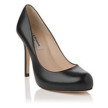 Buy L.K. Bennett Harper Leather Stiletto Heel Platform Court Shoes Online at johnlewis.com