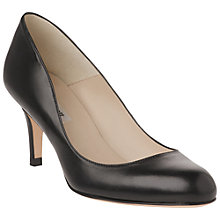 Buy L.K. Bennett Sabira Leather Stiletto Heel Court Shoes Online at johnlewis.com