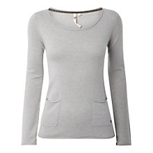 Buy White Stuff Mork Jumper, Husky Grey Online at johnlewis.com