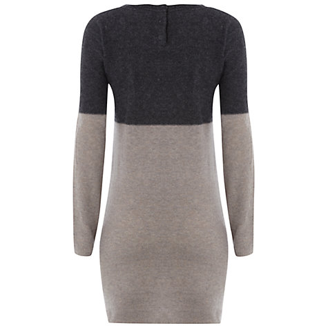 Buy White Stuff Kimmy Tunic Dress, Seal Grey Online at johnlewis.com