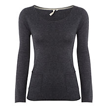 Buy White Stuff Mork Jumper, Seal Grey Online at johnlewis.com