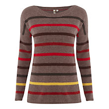 Buy White Stuff Saffron Jumper, Viking Red Online at johnlewis.com