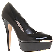 Buy Carvela Azure Metallic Detail Platform Court Shoes Online at johnlewis.com