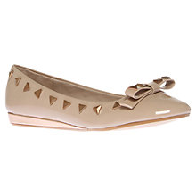 Buy Carvela Lola Stud Detail Round Toe Ballet Pumps Online at johnlewis.com