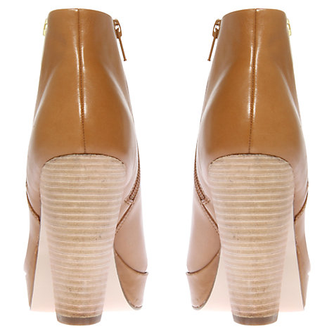 Buy KG by Kurt Geiger Vera Zip Detail Leather Ankle Boots Online at johnlewis.com