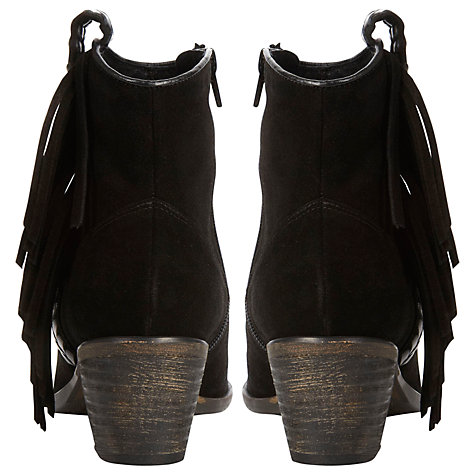 Buy Bertie Plata Long Tassel Suede Ankle Boots Online at johnlewis.com