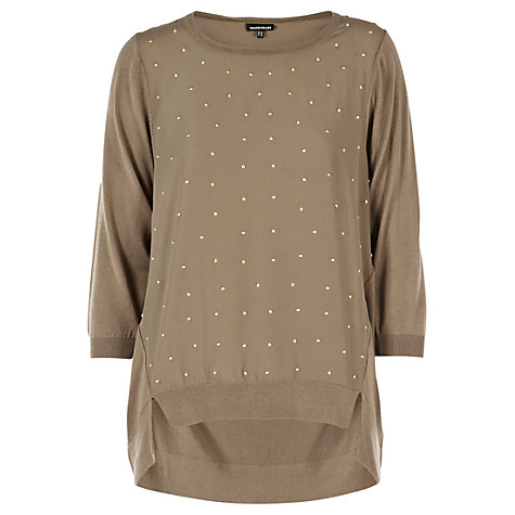 Buy Warehouse Stud Jumper Online at johnlewis.com