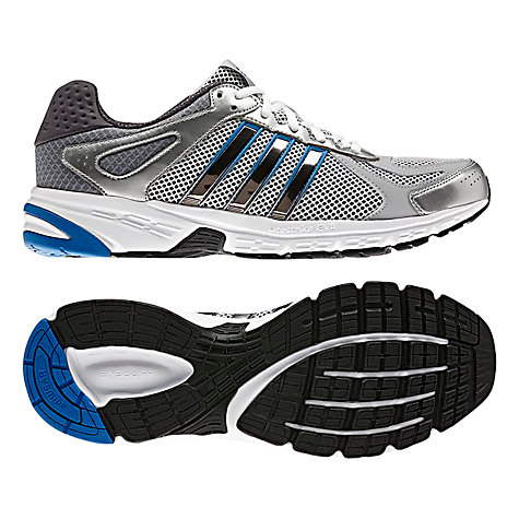 Adidas Duramo 5 Synk Trainers, White/Silver/Blue