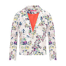 Buy Loved & Found Floral Blazer, Cream/Multi Online at johnlewis.com