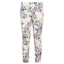 Buy Loved & Found Floral Trousers, Cream/Multi Online at johnlewis.com