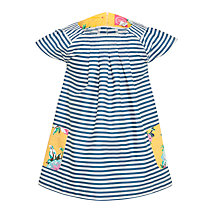 Buy Little Joule Clara Tunic Dress, Navy Online at johnlewis.com