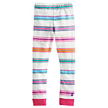 Buy Little Joule Corrine Striped Leggings, Multi Online at johnlewis.com