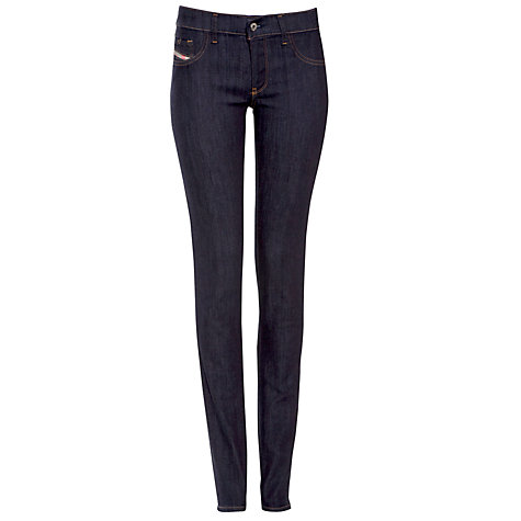 Buy Diesel Livier Jeggings, Indigo Online at johnlewis.com