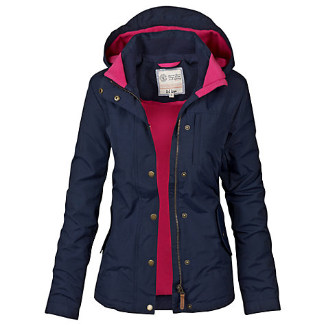 Buy Fat Face Whinnie Warm and Dry Jacket, Navy Online at johnlewis.com