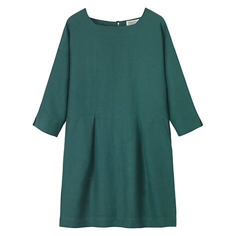 Buy Toast Silk Blend Cyd Drapey Dress, Green Online at johnlewis.com