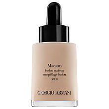 Buy Giorgio Armani Maestro Fusion Makeup, 30ml Online at johnlewis.com