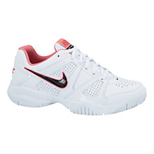 Buy Nike Citycourt 7 Tennis Shoes, White/Pink Online at johnlewis.com