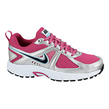 Buy Nike Dart 9 Trainers, Pink/Silver/Black Online at johnlewis.com