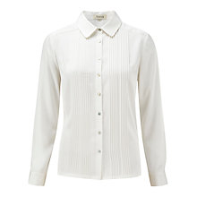 Buy Viyella Satin Pintuck Blouse Online at johnlewis.com