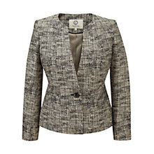 Buy Viyella Tweed Jacket, Stone Online at johnlewis.com