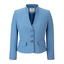 Buy Viyella Petite Tweedy Jacket, Cornflower Online at johnlewis.com