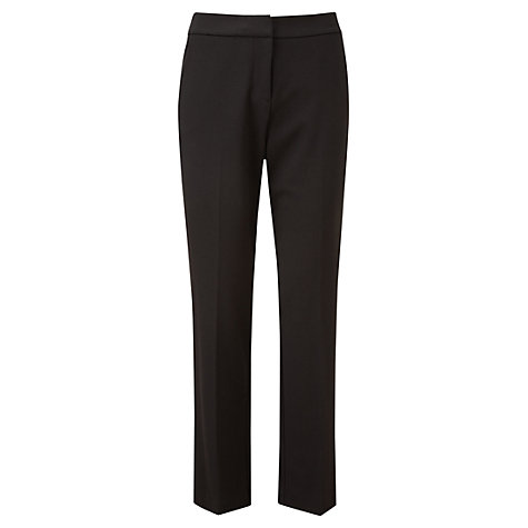 Buy Viyella Formal Ponte Trousers, Black Online at johnlewis.com