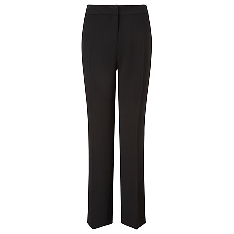 Buy Viyella Drapey Twill Trousers, Black Online at johnlewis.com