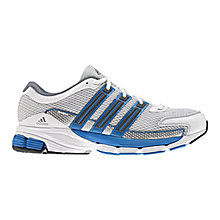Buy Adidas Questar Cushioned Men's Running Shoes, Running White Online at johnlewis.com