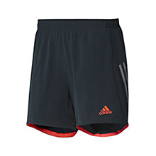 "Buy Adidas Supernova 7"" Shorts, Onix Online at johnlewis.com"