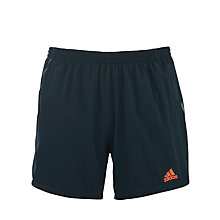 "Buy Adidas Supernova 5"" Running Shorts, Grey Online at johnlewis.com"