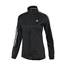 Buy Adidas Response Windbreaker Jacket, Black/Grey Online at johnlewis.com
