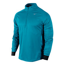 Buy Nike Sphere Long Sleeve 1/2 Zip Top, Turquoise/Black Online at johnlewis.com