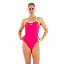 Buy Speedo Women's Endurance Power Flash Swimsuit Online at johnlewis.com