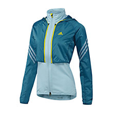 Buy Adidas Supernova Adjustable Jacket, Blue Online at johnlewis.com