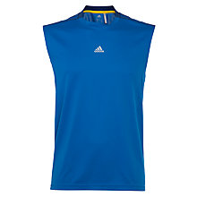 Buy Adidas Men's Essentials 3 Stripe Tank Top, Blue Online at johnlewis.com