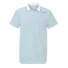 Buy Nike Striped Pique Short Sleeve Polo Shirt Online at johnlewis.com