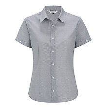 Buy COLLECTION by John Lewis Spot Blouse, Navy Online at johnlewis.com